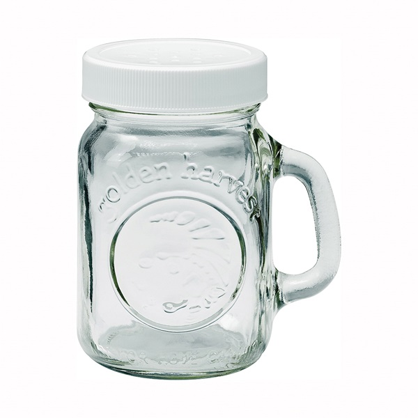 Picture of Ball 40501 Salt/Pepper Shaker, 4 oz Capacity, Glass, White