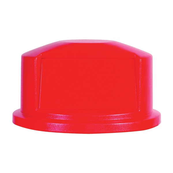 Picture of Rubbermaid Brute FG264788RED Lid, Polyethylene, Red, For: 44 gal Containers