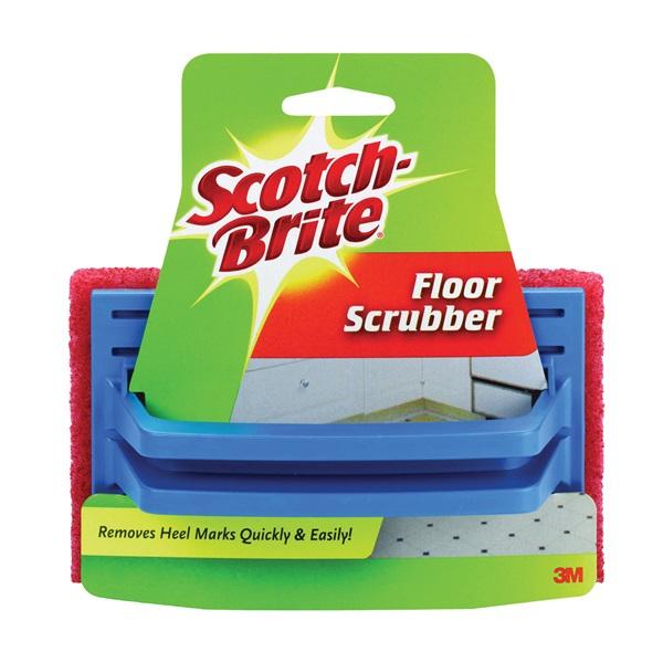 Picture of Scotch-Brite 7722 Floor Scrubber, 6 in L, 4 in W, Brown