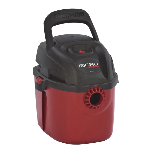 Picture of Shop-Vac Micro 2021000 Wet/Dry Corded Vacuum, 1 gal Vacuum, Foam Sleeve Filter, 120 V