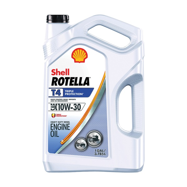 Picture of Shell Rotella T4 Series 550045144 Engine Oil, 10W-30, 1 gal Package, Jug