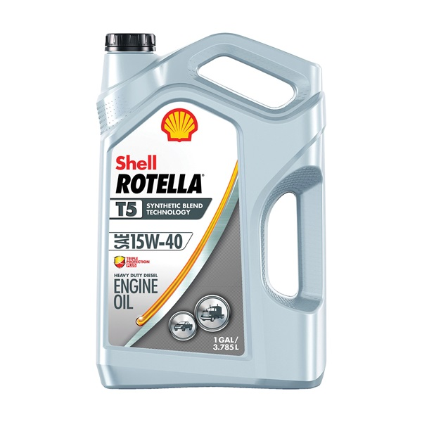 Picture of Shell Rotella T5 Series 550045348 Engine Oil, 15W-40, 1 gal Package, Jug