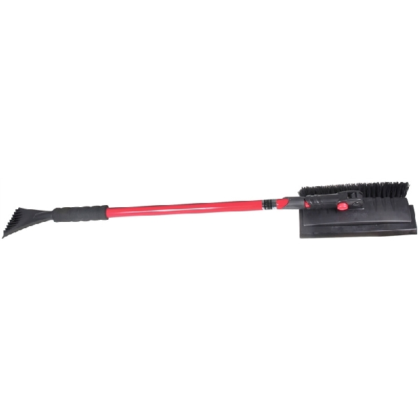 Picture of SubZero 5412PBT Pivoting Snow Broom, 8-1/2 in W Blade, 54 in OAL, Steel Handle