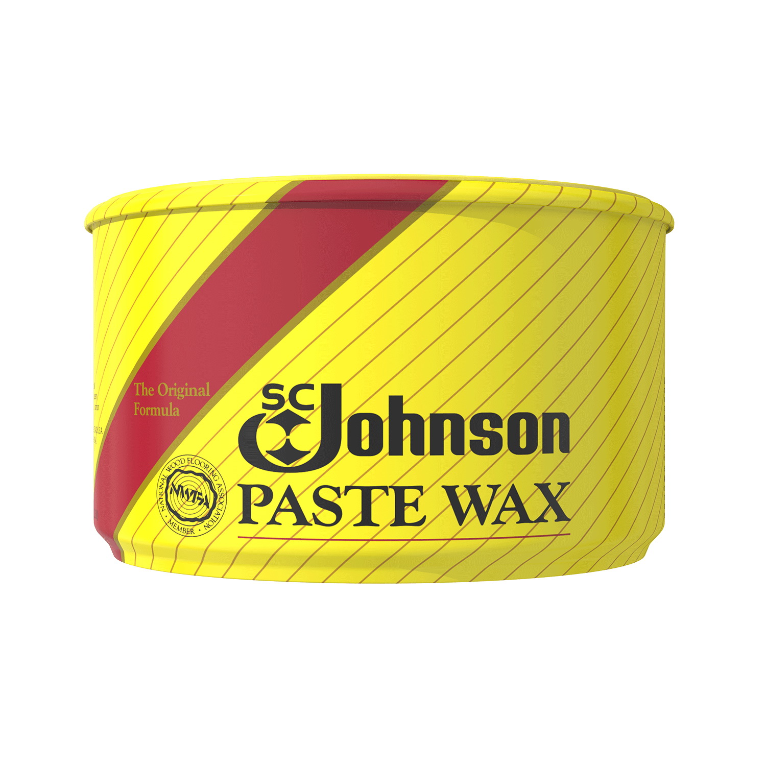 Picture of SC JOHNSON 000203 Paste Wax, Opaque, Solid, 1 lb, Tin