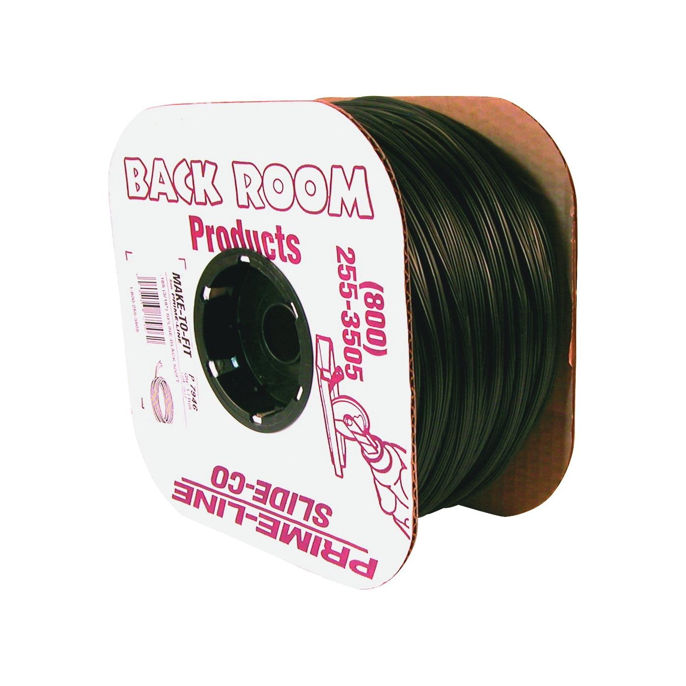 Picture of Make-2-Fit P 7572 Screen Retainer Spline, 500 ft L, Vinyl, Black, Round