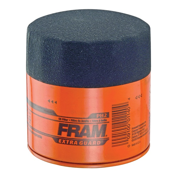 Picture of FRAM PH2 Full-Flow Lube Oil Filter, 22 x 1.5 mm Connection, Threaded, Cellulose, Synthetic Glass Filter Media
