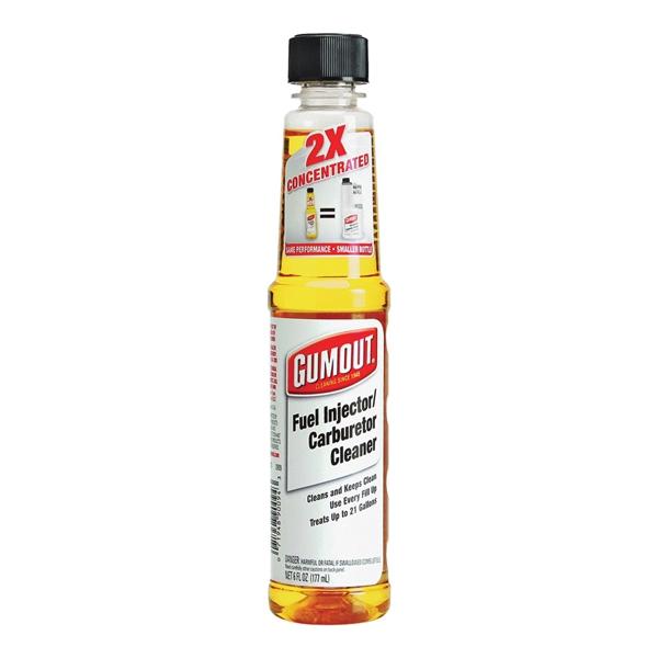 Picture of Gumout 510021 Fuel Injector/Carburetor Cleaner, 6 oz Package, Bottle, Hydrocarbon