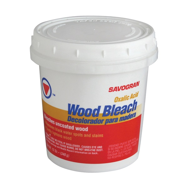 Picture of SAVOGRAN 10501 Wood Bleach, 12 oz Package, Crystalline Solid, White