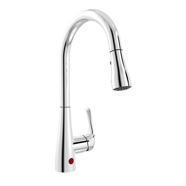 Picture of Belanger Essential Style NEX76CCP Kitchen Faucet, 2.2 gpm, Brass, Chrome