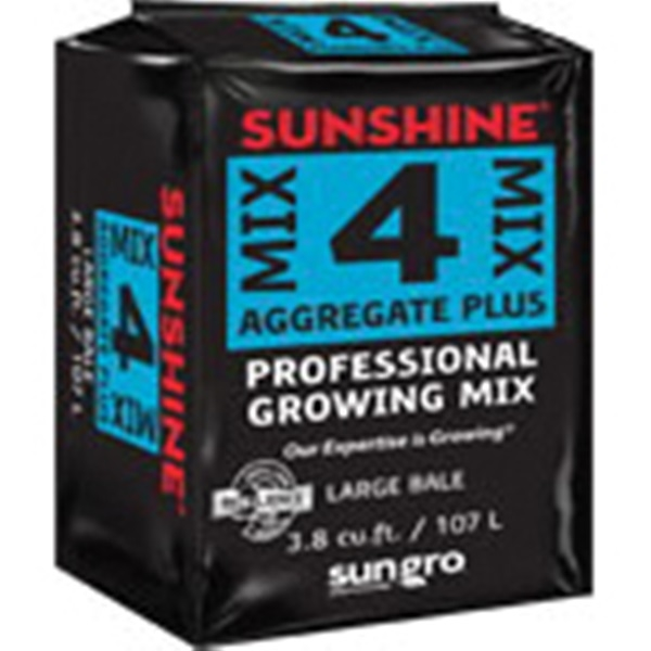 Picture of sun gro Sunshine 5047040.CFC003P Growing Mix Bag, Granular, Brown, Faint Earthy, Bag