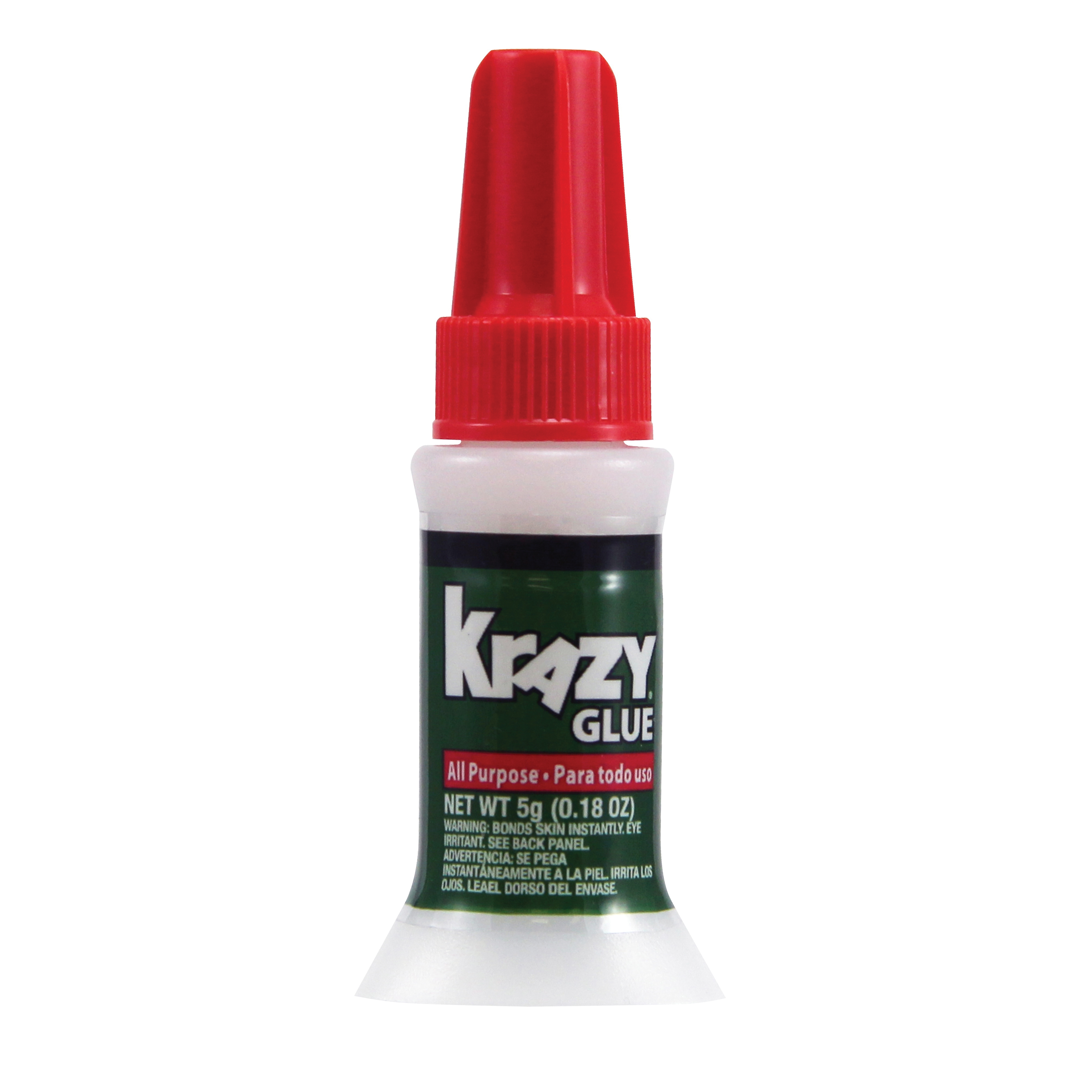 Picture of Krazy Glue KG92548R Brush-On Glue, Liquid, Irritating, Clear, 5 g Package, Tube