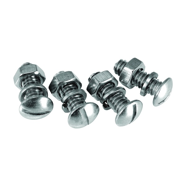 Picture of GENUINE VICTOR 22-1-45904-8 License Plate Fastener, Stainless Steel