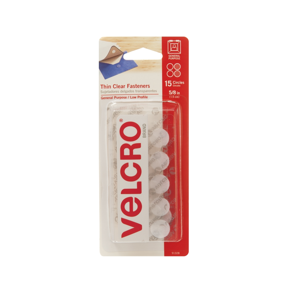 Picture of VELCRO Brand 91328 Fastener, Clear