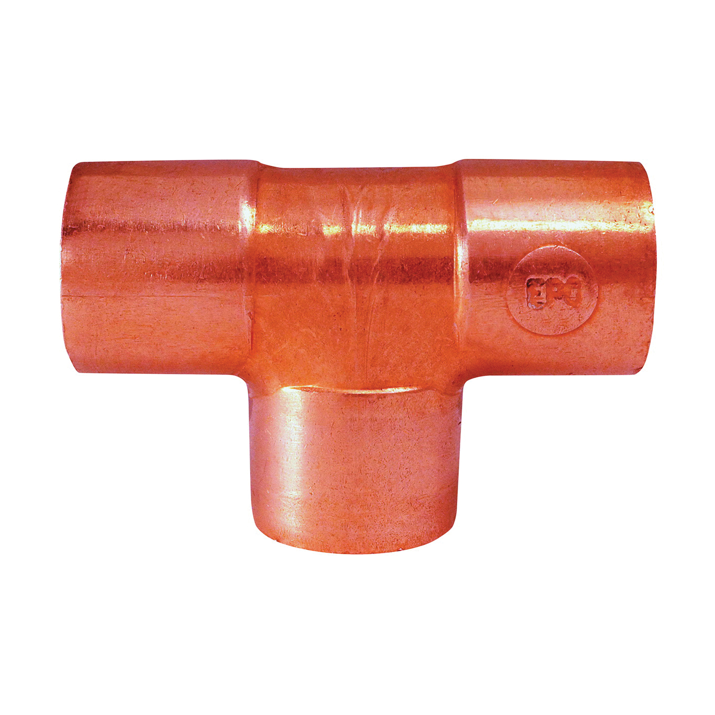 Picture of EPC 111 Series 32970 Pipe Tee, 2 in, Sweat, Copper