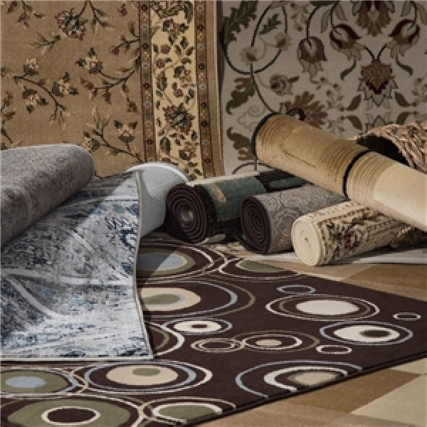 Picture of NATCO 8999CA57 Rug, 5 ft L, 6 ft W, Polypropylene Rug, Assorted