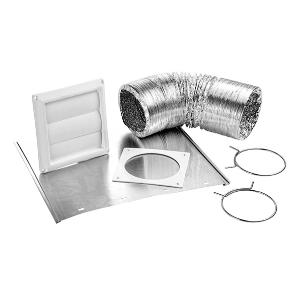 Picture of Lambro 1369W Louvered Vent Kit, 12-Piece, Bag