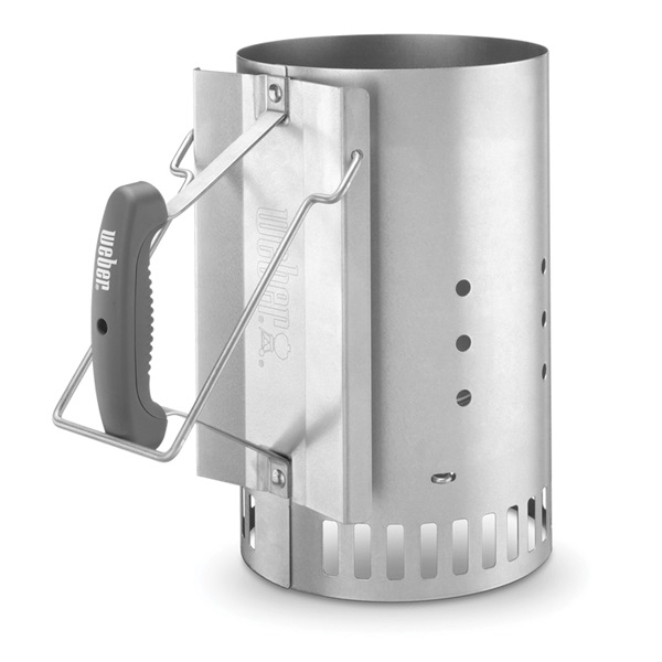 Picture of Weber 7416 Chimney Starter, Steel, Ergonomic Handle