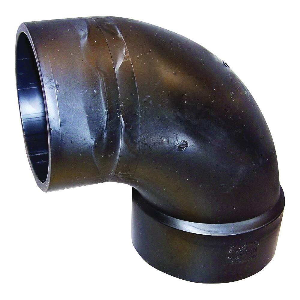 Picture of GENOVA 82916 Sanitary Street Elbow, 1-1/2 in, Hub x Spigot, 90 deg Angle, ABS, SCH 40 Schedule