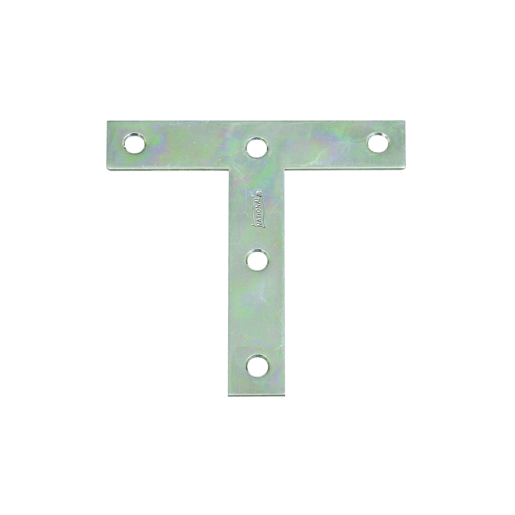 Picture of National Hardware 116BC Series N266-445 T-Plate, 4 in L, Steel, Zinc
