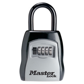 Picture of Master Lock 5400D Combination Portable Lock Box, Metal/Steel, 3-1/4 in W