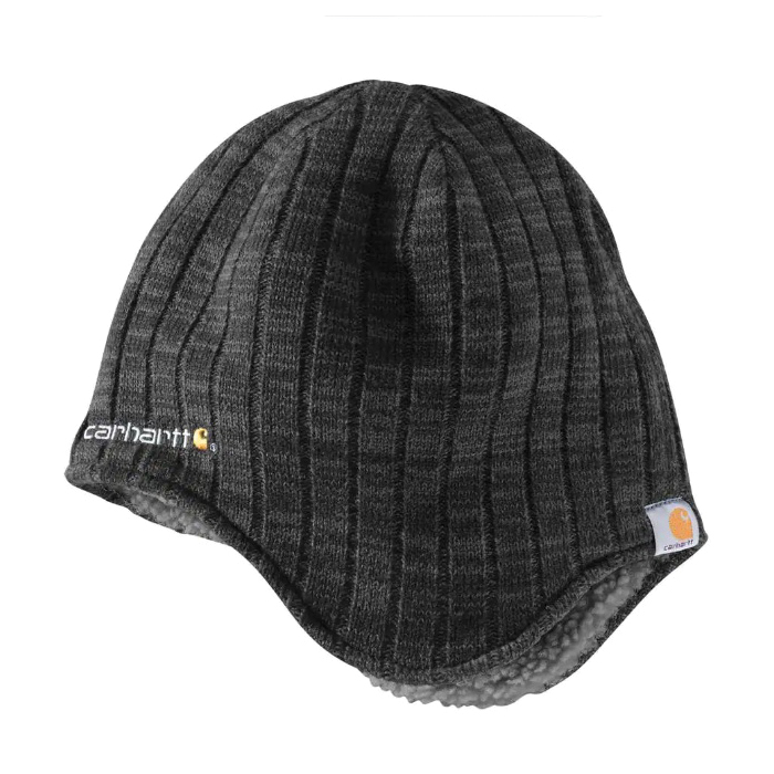 Picture of Carhartt 100774-001 Akron Hat, Men's, One-Size, Acrylic/Polyester, Black