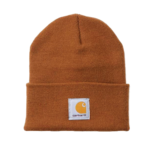 Picture of Carhartt A18-BRN Watch Hat, Beanie, Men's, One-Size, Acrylic, Brown