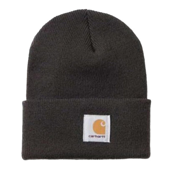 Picture of Carhartt A18-DGR Watch Hat, Beanie, Men's, One-Size, Acrylic, Dark Green