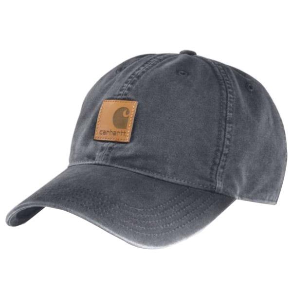 Picture of Carhartt 100289-470 Odessa Cap, Men's, One-Size, Cotton, Bluestone