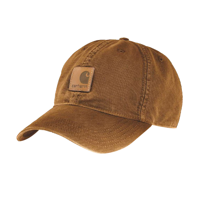 Picture of Carhartt 100289-211 Odessa Cap, Men's, One-Size, Cotton, Brown