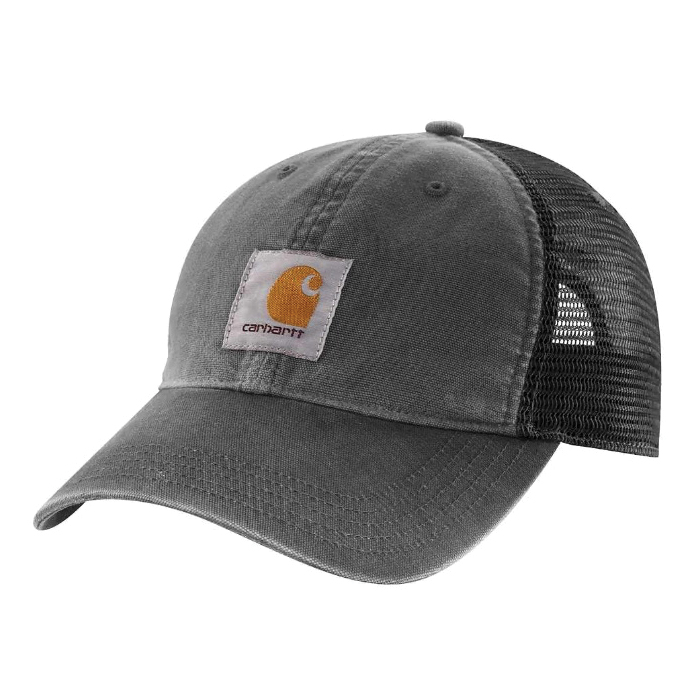 Picture of Carhartt 100286-001 Buffalo Cap, Embroidered Logo, Men's, One-Size, Cotton/Polyester, Black