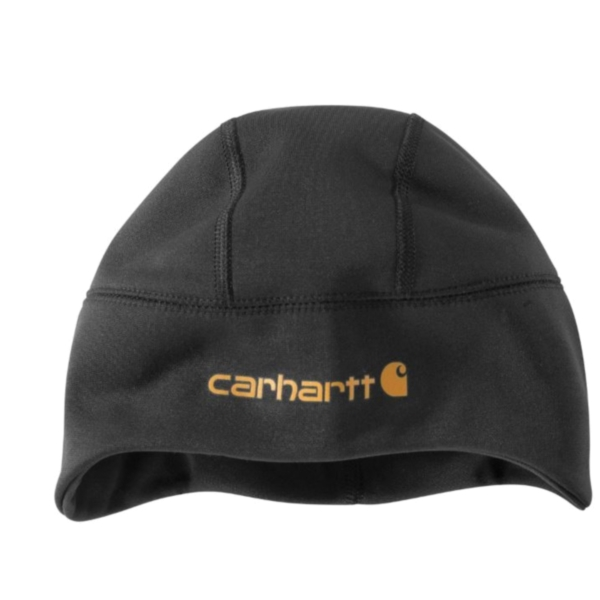 Picture of Carhartt 102711-001 Beanie, Men's, One-Size, Polyester, Black