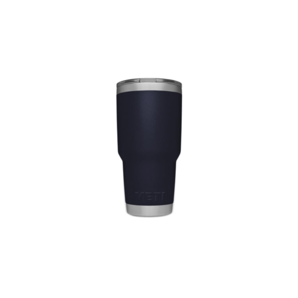 Picture of YETI Rambler 21070070027 Tumbler, 30 oz Capacity, MagSlider Lid, Stainless Steel, Navy