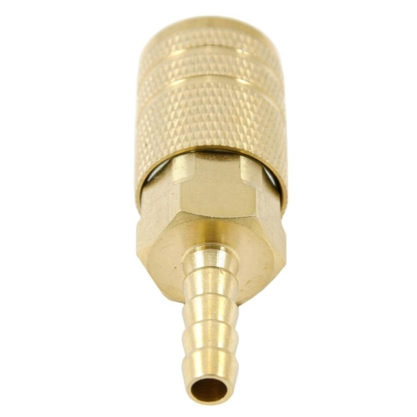 Picture of Forney 75480 Coupler, 1/4 in, Hose Barb, Brass
