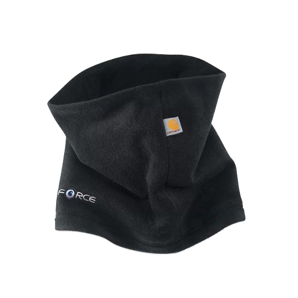 Picture of Carhartt A204-BLK Fleece Neck Gaiter, Men's, One-Size, Polyester/Spandex, Black