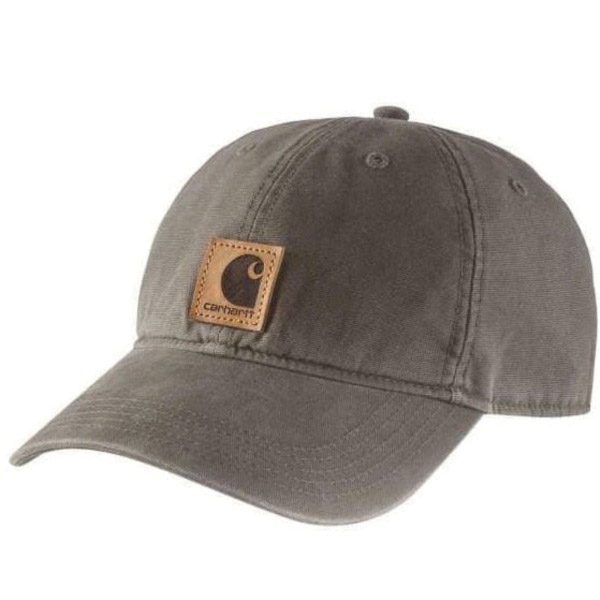 Picture of Carhartt 100289-260 Odessa Cap, Men's, One-Size, Cotton, Driftwood