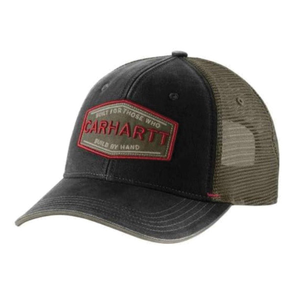 Picture of Carhartt 103065-001 Silvermine Cap, Men's, One-Size, Cotton/Polyester, Black