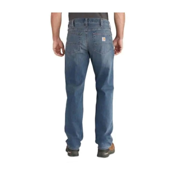 Picture of Carhartt 102804 Jeans, 36 in Waist, 30 in Inseam L, Coldwater, Stretchable