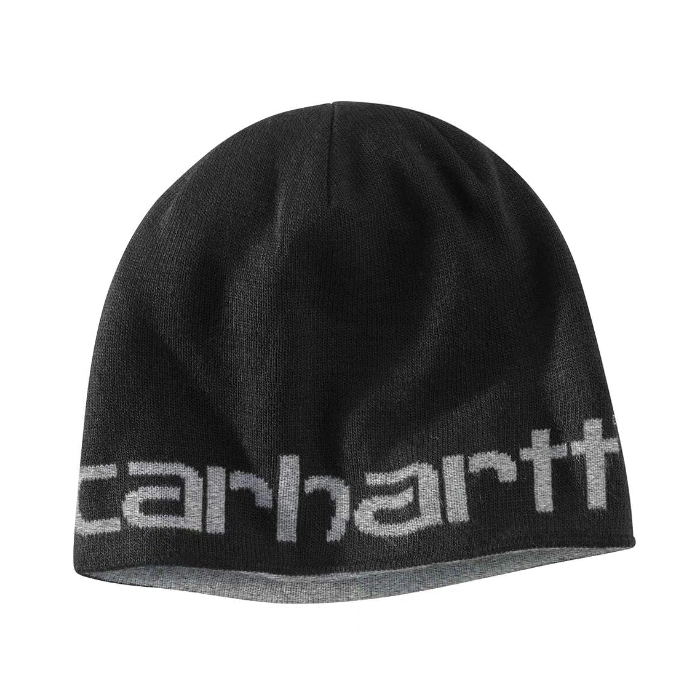 Picture of Carhartt 100137-001 Reversible Hat, Greenfield, Men's, One-Size, Acrylic, Black