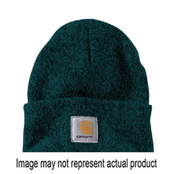 Picture of Carhartt A18-384 Watch Hat, Beanie, Men's, One-Size, Acrylic, Dark Green/Driftwood