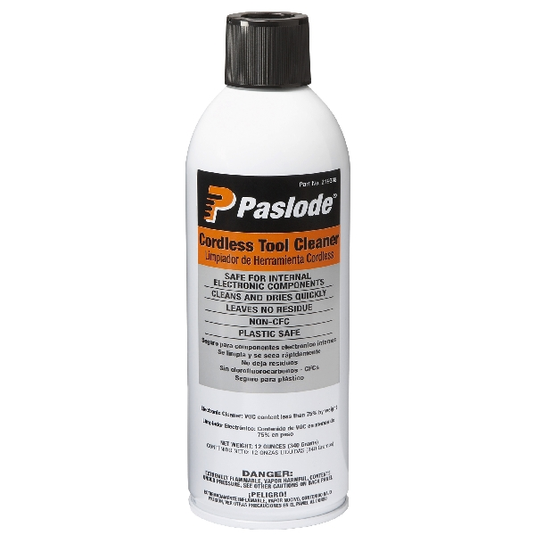 Picture of Paslode 219348 Tool Cleaner, 12 oz Package, Can, Liquid, Solvent