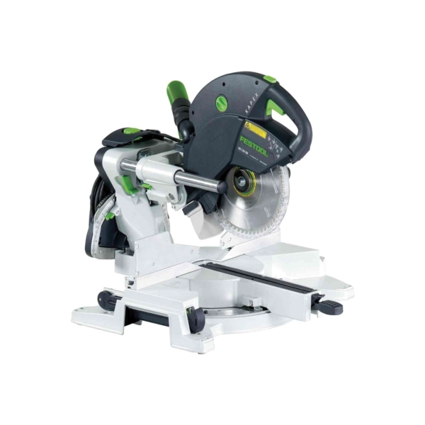 Picture of Festool Kapex 561287 Sliding Compound Miter Saw, 10-1/4 in Dia Blade, 1400 to 3400 rpm Speed, 47 deg Max Bevel Angle