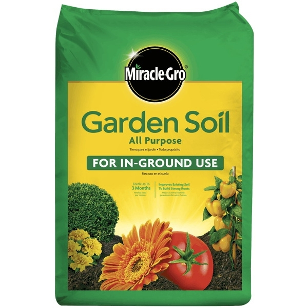 Picture of Miracle-Gro 70551430 All Purpose Garden Soil, 1 cu-ft Package, Bag