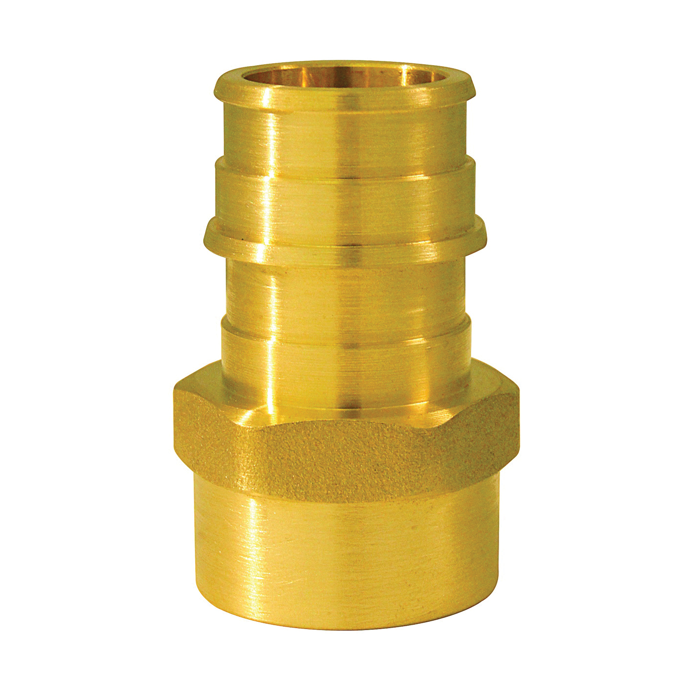 Picture of Apollo ExpansionPEX EPXFA34125PK Pipe Adapter, 3/4 x 1/2 in, Barb x FNPT, Brass, 200 psi Pressure
