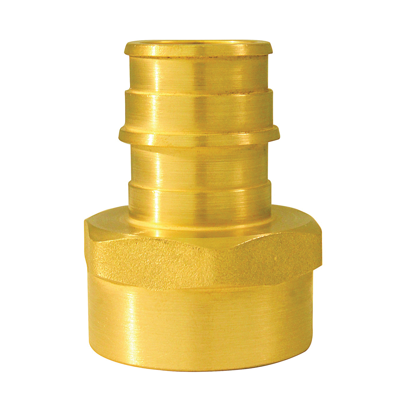 Picture of Apollo ExpansionPEX EPXFA3410PK Pipe Adapter, 3/4 in, Barb x FNPT, Brass, 200 psi Pressure