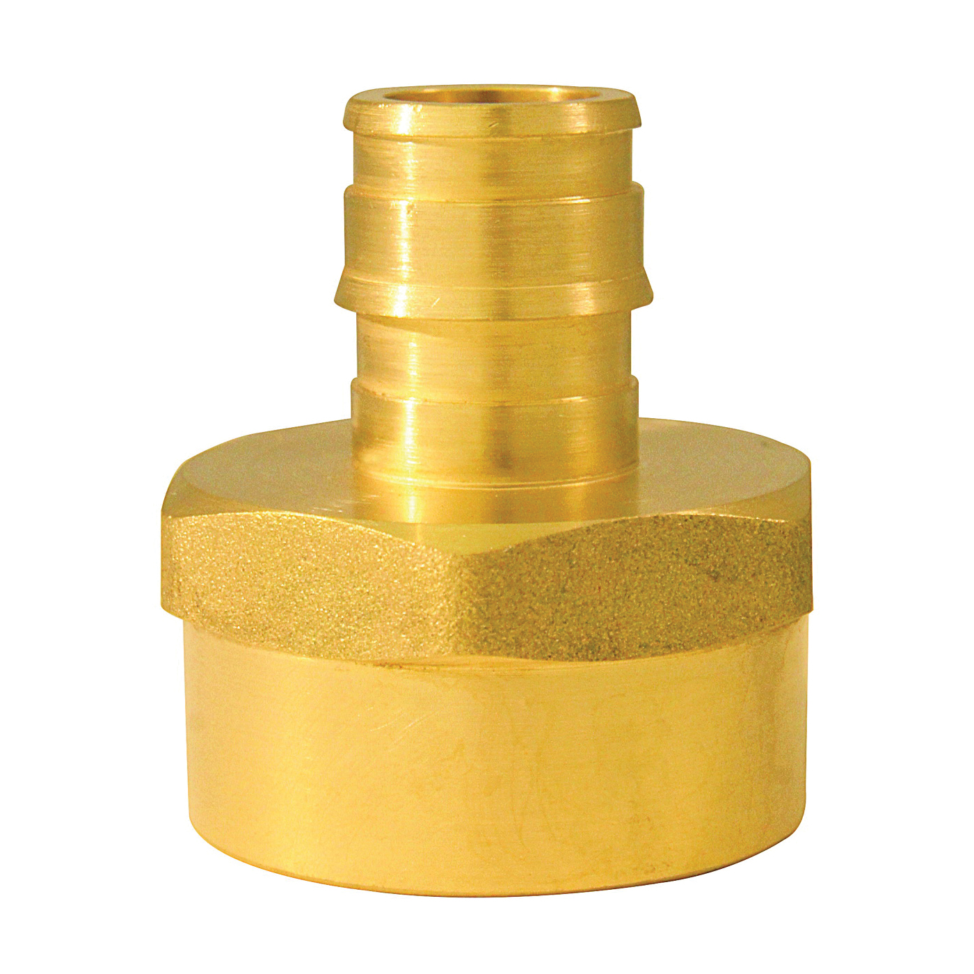 Picture of Apollo ExpansionPEX EPXFA12345PK Reducing Adapter, 1/2 x 3/4 in, Barb x FNPT, Brass, 200 psi Pressure