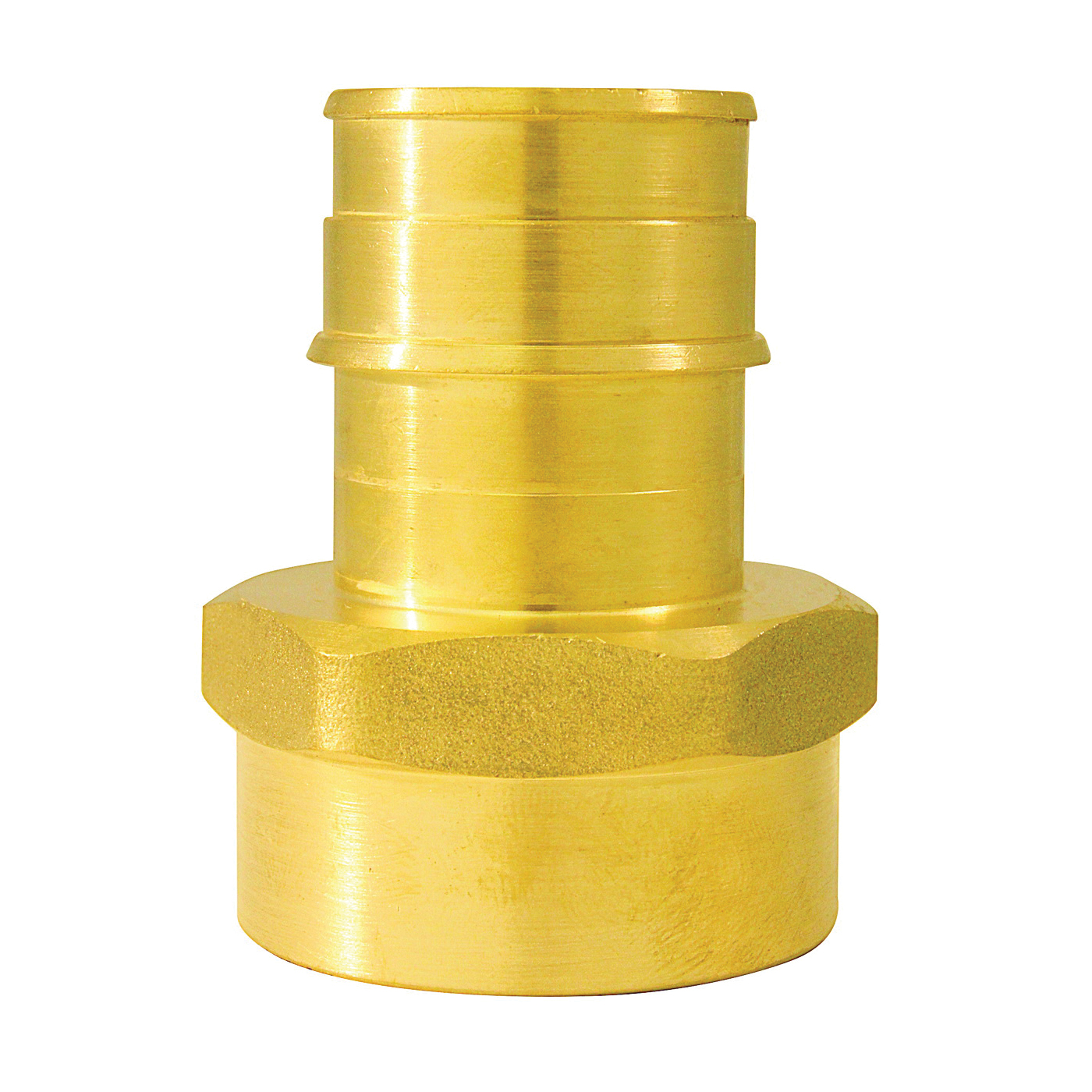 Picture of Apollo ExpansionPEX EPXFA1 Pipe Adapter, 1 in, Barb x FPT, Brass, 200 psi Pressure