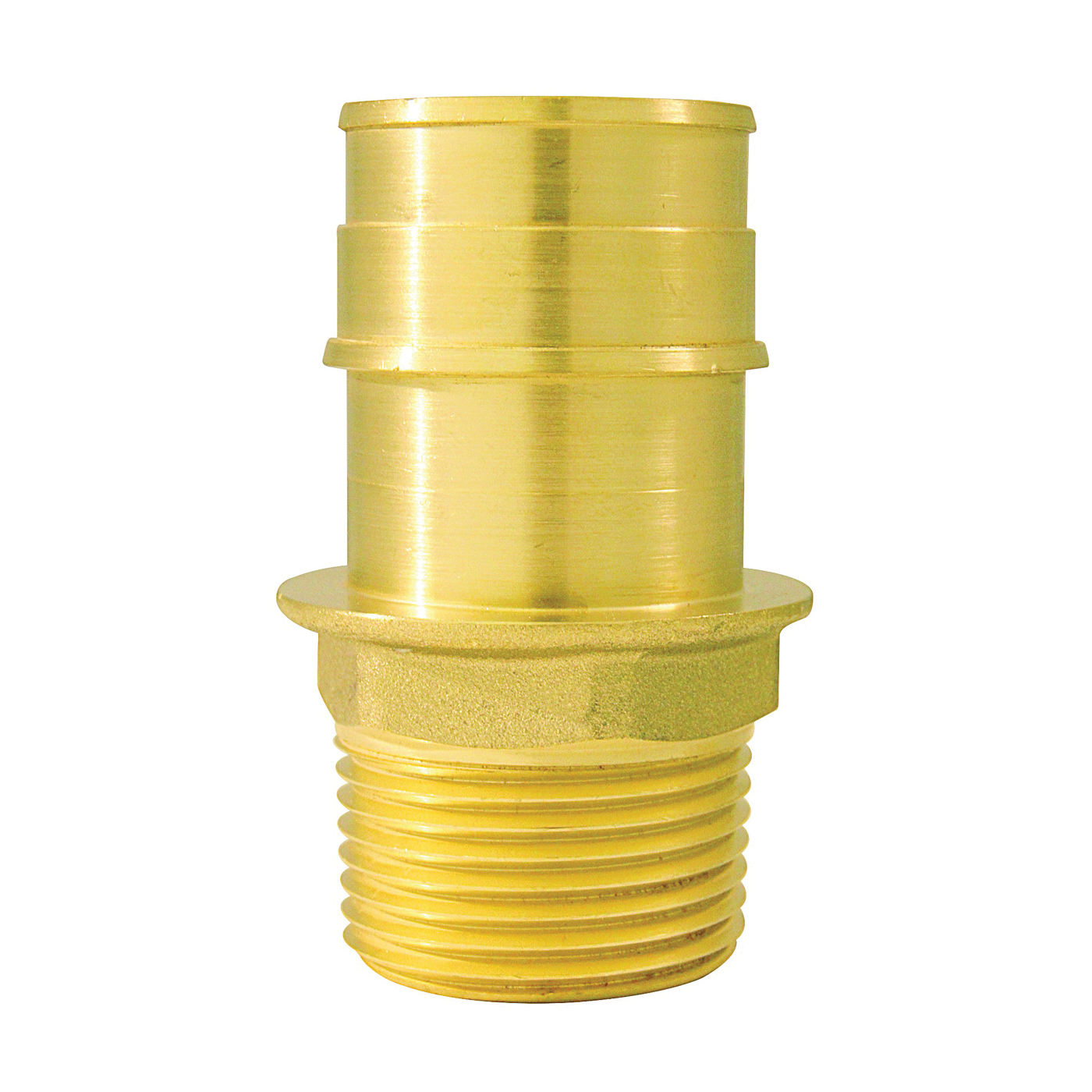 Picture of Apollo ExpansionPEX EPXMA134 Reducing Adapter, 1 x 3/4 in, Barb x MPT, Brass, 200 psi Pressure