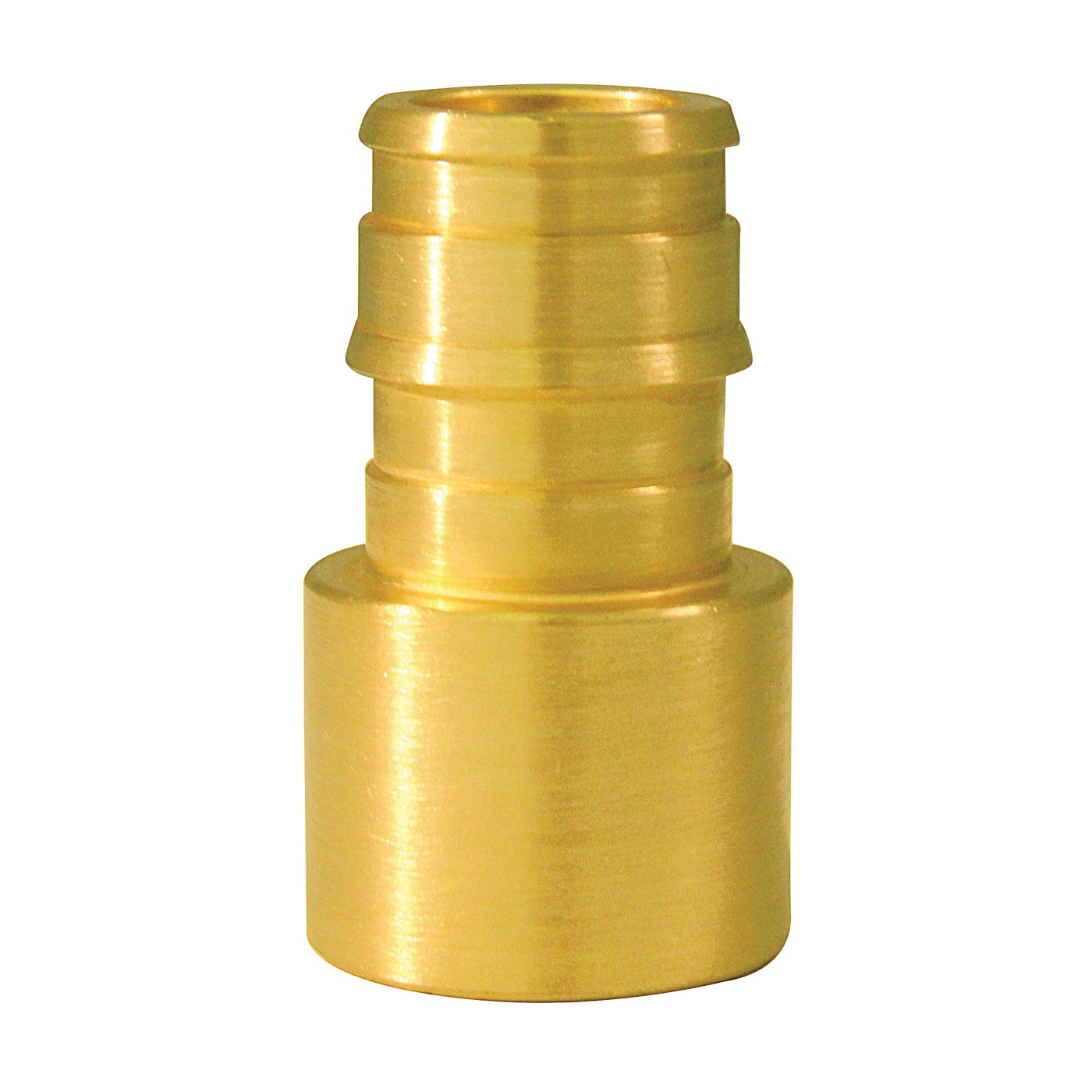 Picture of Apollo ExpansionPEX EPXFS1210PK Solder Adapter, 1/2 in, Barb x Female Sweat, Brass, 200 psi Pressure