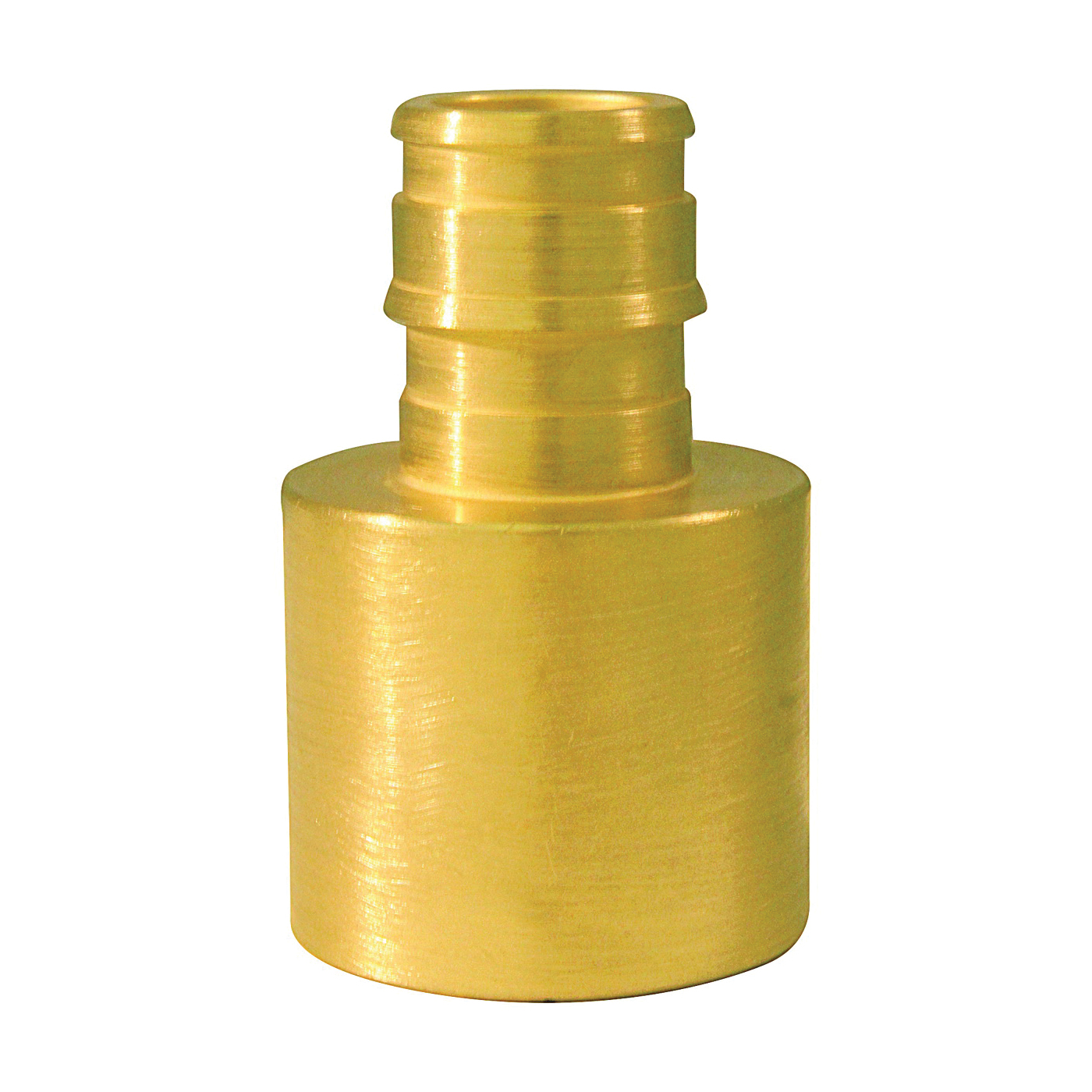 Picture of Apollo ExpansionPEX EPXFS1234 Solder Adapter, 1/2 x 3/4 in, Barb x Female Sweat, Brass, 200 psi Pressure