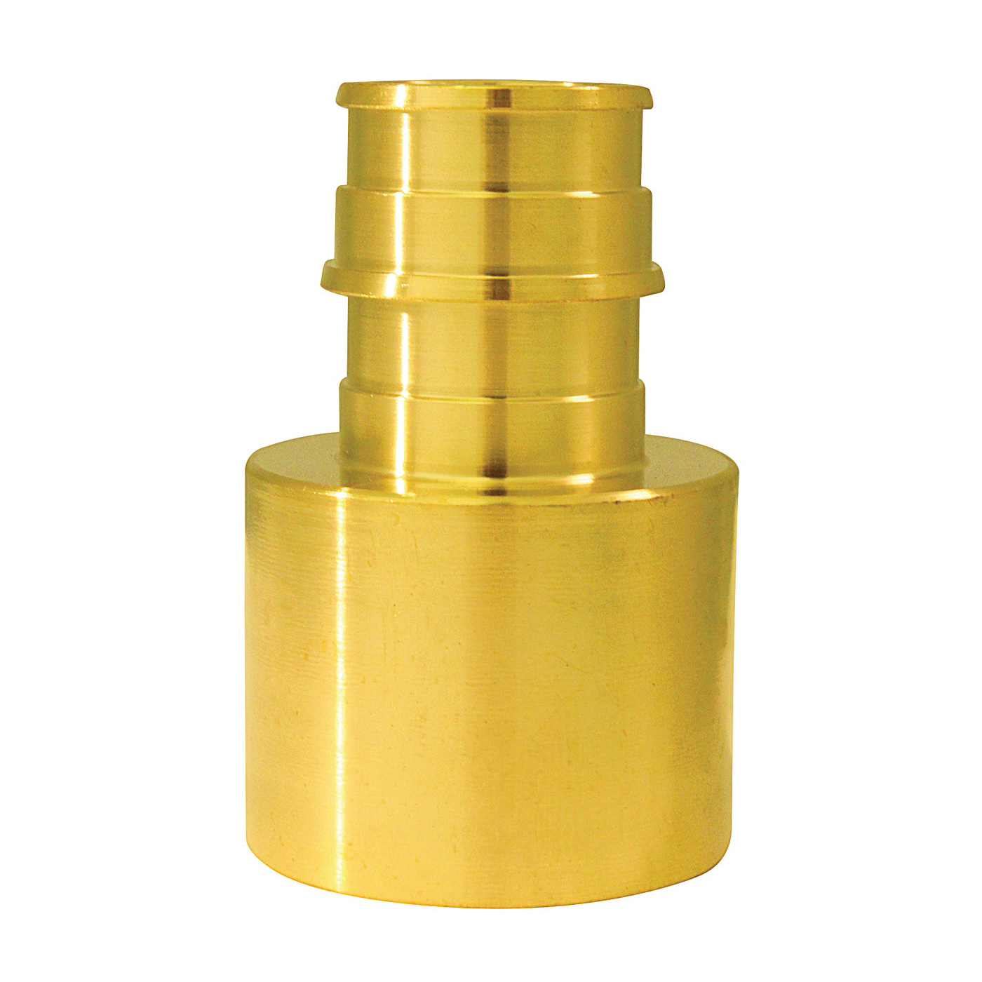 Picture of Apollo ExpansionPEX EPXFS341 Solder Adapter, 3/4 x 1 in, Barb x Female Sweat, Brass, 200 psi Pressure